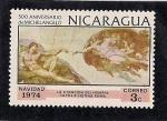 Sellos de America - Nicaragua -  Navidad de 1974