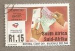 Sellos de Africa - Sudáfrica -  Día Nacional del Sello