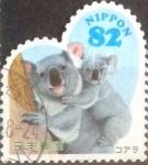 Sellos de Asia - Japón -  Scott#3736a intercambio, 1,10 usd, 82 yen 2014