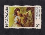 Stamps America - Nicaragua -  Pintores Famosos