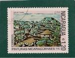 Stamps America - Nicaragua -  Pinturas Nicaraguenses