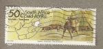 Stamps South Africa -  Turismo, Jabalíes