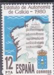 Stamps : Europe : Spain :  ESTATUTO DE AUTONOMIA DE GALICIA (30)