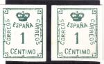 Sellos de Europa - España -  CORONA (30)