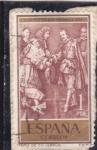 Stamps : Europe : Spain :  TAPIZ DE CH. LEBRUN (30)