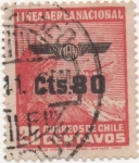 Stamps America - Chile -  Y & T Nº 50 Aéreo