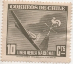 Stamps America - Chile -  Y & T Nº 53 Aéreo
