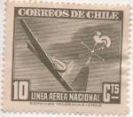 Sellos del Mundo : America : Chile : Y & T Nº 53 Aéreo