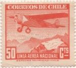 Sellos del Mundo : America : Chile : Y & T Nº 57 Aéreo