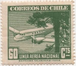 Stamps Chile -  Y & T Nº 58 Aéreo
