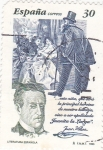 Stamps : Europe : Spain :  LITERATURA ESPAÑOLA (31)