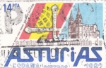 Stamps Spain -  ESTATUTO DE AUTONOMIA DE ASTURIAS (31)