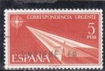 Stamps Spain -  CORRESPONDENCIA URGENTE (31)