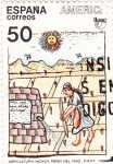 Stamps : Europe : Spain :  AGRICULTURA INCAICA-UPAEP (31)