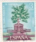 Stamps Spain -  ARBOL DE GUERNICA (31)