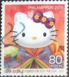 Sellos del Mundo : Asia : Japón : Scott#3300i intercambio, 0,90 usd, 80 yen 2011