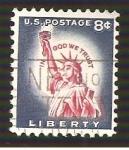 Sellos de America - Estados Unidos -  RESERVADO HECTOR BLAZ