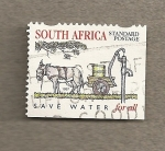 Stamps Africa - South Africa -  Ahorrar agua