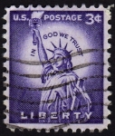 Sellos de America - Estados Unidos -  INT-LIBERTY-IN GOD WE TRUST