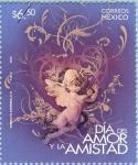 Sellos del Mundo : America : México : Dia del Amor y la Amistad