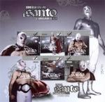 sellos de America - México -  Iconos de la Lucha libre El SANTO en enmascarado de plata