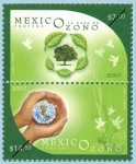 Stamps Mexico -  México protege la capa de ozono
