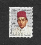 Sellos de Africa - Marruecos -  178 - Rey Hassan II