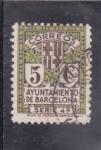 Stamps Spain -  AYUNTAMIENTO DE BARCELONA (31)