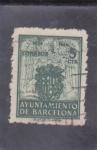 Stamps : Europe : Spain :  AYUNTAMIENTO DE BARCELONA (31)