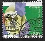 Sellos de Europa - Portugal -  Mascaras
