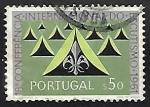 Sellos de Europa - Portugal -  Congresos   Scout