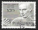 Stamps : Europe : Portugal :  Francisco Franco