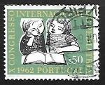 Sellos de Europa - Portugal -  Congreso Internacional de Pediatria
