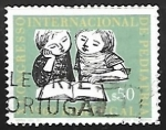 sello : Europa : Portugal : Congreso Internacional de Pediatria