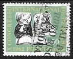 Stamps : Europe : Portugal :  Congreso Internacional de Pediatria
