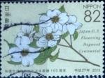 sellos de Asia - Japón -  Scott#3814e intercambio, 1,10 usd, 82 yen 2015
