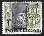 Sellos del Mundo : Europa : Portugal : Bento de Goes
