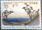 Sellos del Mundo : Asia : Japón : Scott#3599 intercambio, 1,10 usd, 70 yen 2013