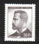 Sellos de America - Chile -  German Riesco (1854-1916)