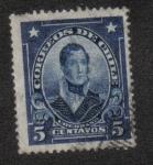 Stamps Chile -  Thomas Cochrane (1775-1860), Admiral