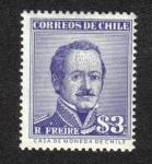 Sellos de America - Chile -  General Ramón Freire Serrano (1787-1851)