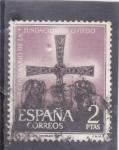 Sellos de Europa - España -  CRUZ DE LOS ANGELES (31)