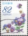 Stamps of the world : Japan :  Scott#3785c intercambio, 1,10 usd, 82 yen 2015