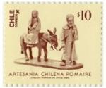 Sellos de America - Chile -  Artesanías