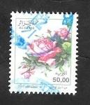 Stamps Algeria -  1386 - Flor, rosas