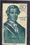 Stamps Spain -  JOSE DE GALVEZ (31)