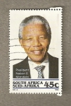 Stamps Africa - South Africa -  Presidente Nelson Mandela