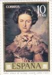 Stamps : Europe : Spain :  MARIA AMALIA DE SAJONIA- Vicente Lopez- (31)