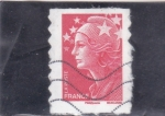 Stamps : Europe : France :  Marianne