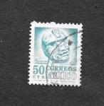 sellos de America - México -  Escultura de Veracruz
